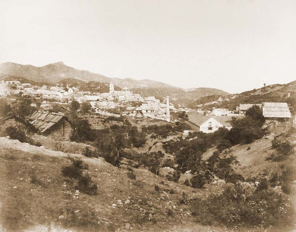 Real Sel monte bányaváros látképe. (Mexikó). Jelzet: FTD 143 – Történeti Fénykép- és Videótár