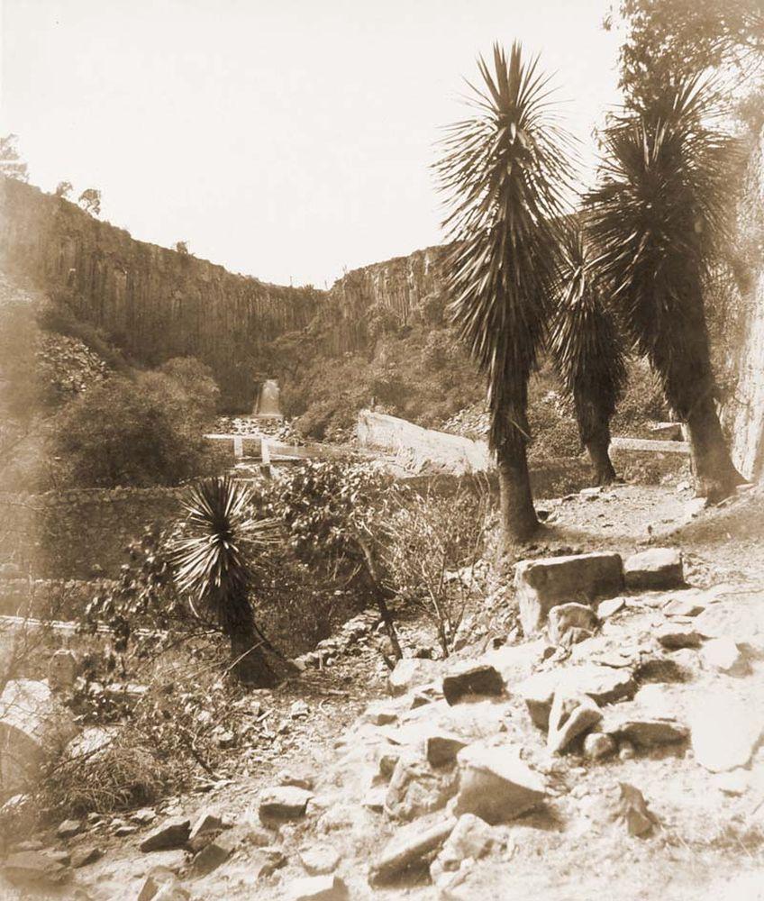 Vízesés Regla mellett. (Mexikó). Jelzet: FTD 144– Történeti Fénykép- és Videótár