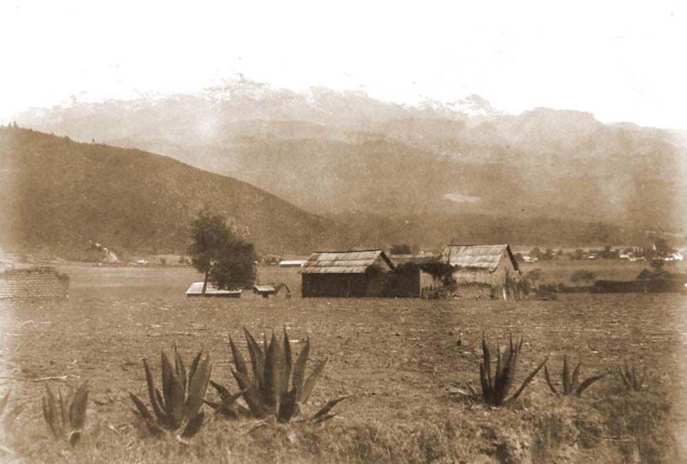 Iztaccíhuatl hegy, műhely. (Mexikó). Jelzet: FTD 147 – Történeti Fénykép- és Videótár