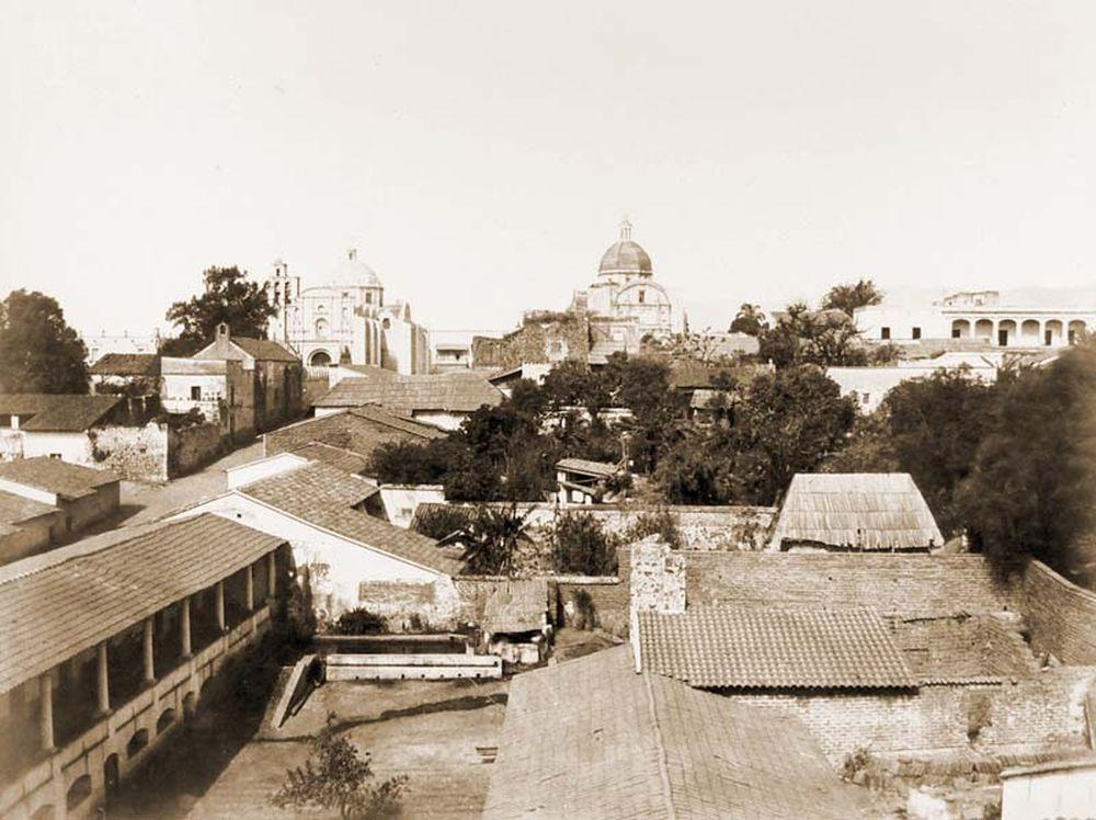 Cuernavaca város látképe. (Mexikó). Jelzet: FTD 149 – Történeti Fénykép- és Videótár