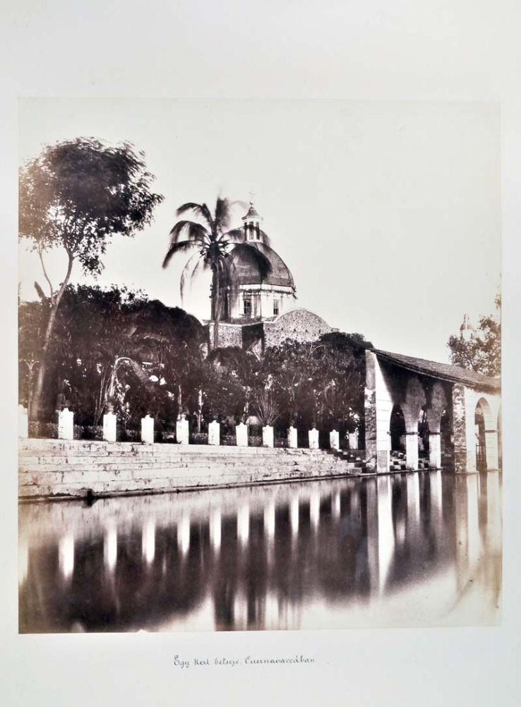 Egy kert belseje Cuernavacában. (Mexikó). Jelzet: FTD 150 – Történeti Fénykép- és Videótár
