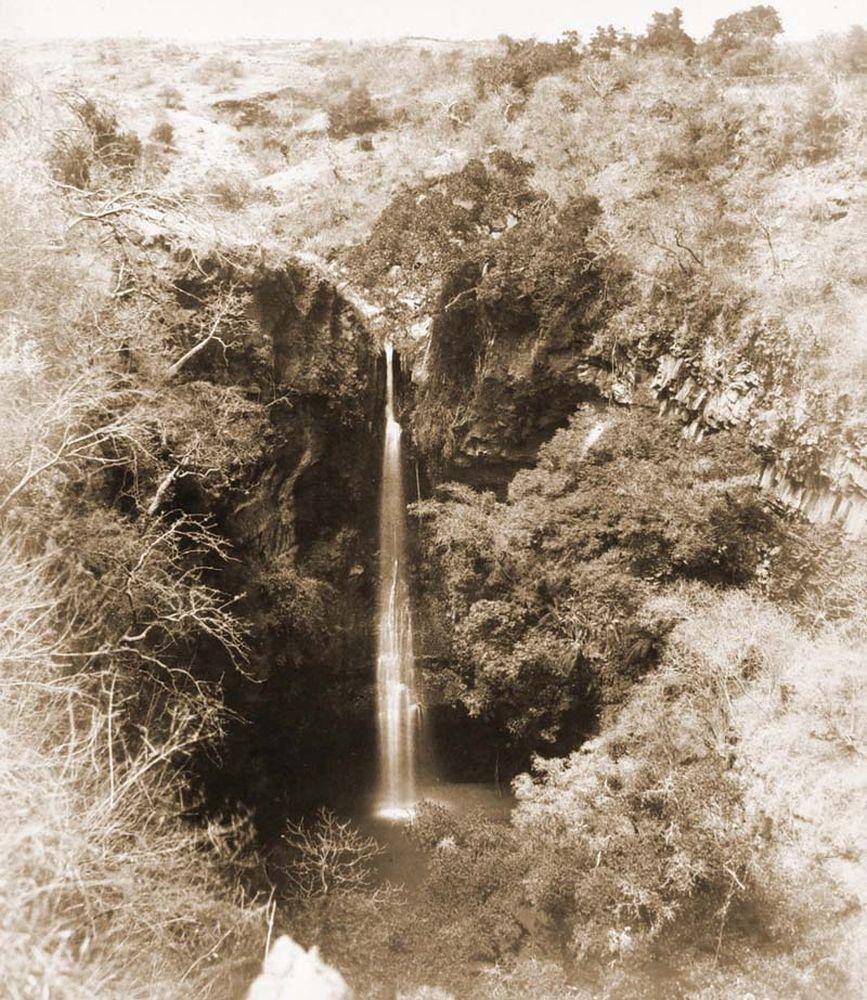 Vizesés Cuernavaca mellett felülnézetből. (Mexikó). Jelzet: FTD 151 – Történeti Fénykép- és Videótár