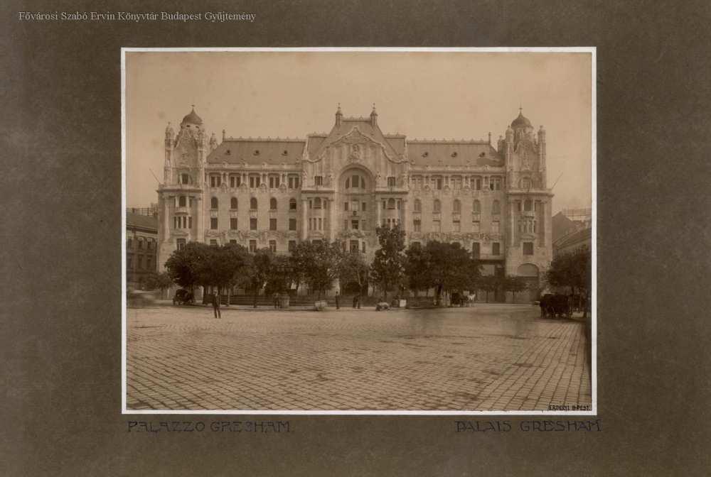 Gresham-palota – Fővárosi Szabó Ervin Könyvtár, Budapest Képarchívum 001784