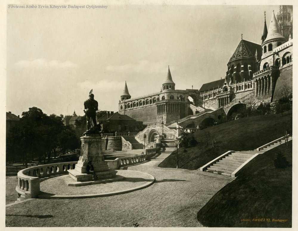 Halászbástya – Fővárosi Szabó Ervin Könyvtár, Budapest Képarchívum 081237