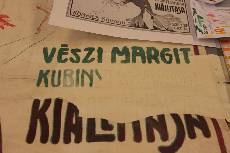 A szöveg visszaírása <br />Vészi Margit kiállítása ... Könyves Kálmán szept. 21-okt. 8.