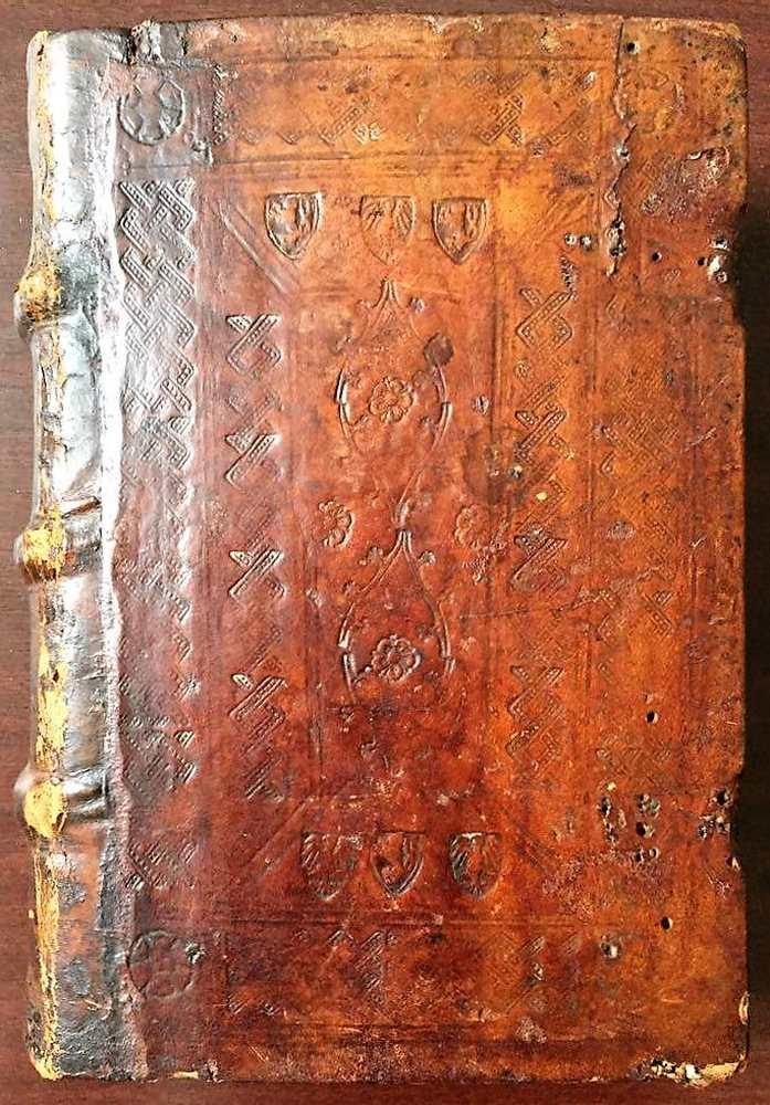 Expositio hymnorum cum commento, Köln, Heinrich Quentell, 1496. – Régi Nyomtatványok Tára. Jelzet: Inc. 913. Koll. (1) Fatábla http://nektar.oszk.hu/hu/manifestation/2763516<br /><br />