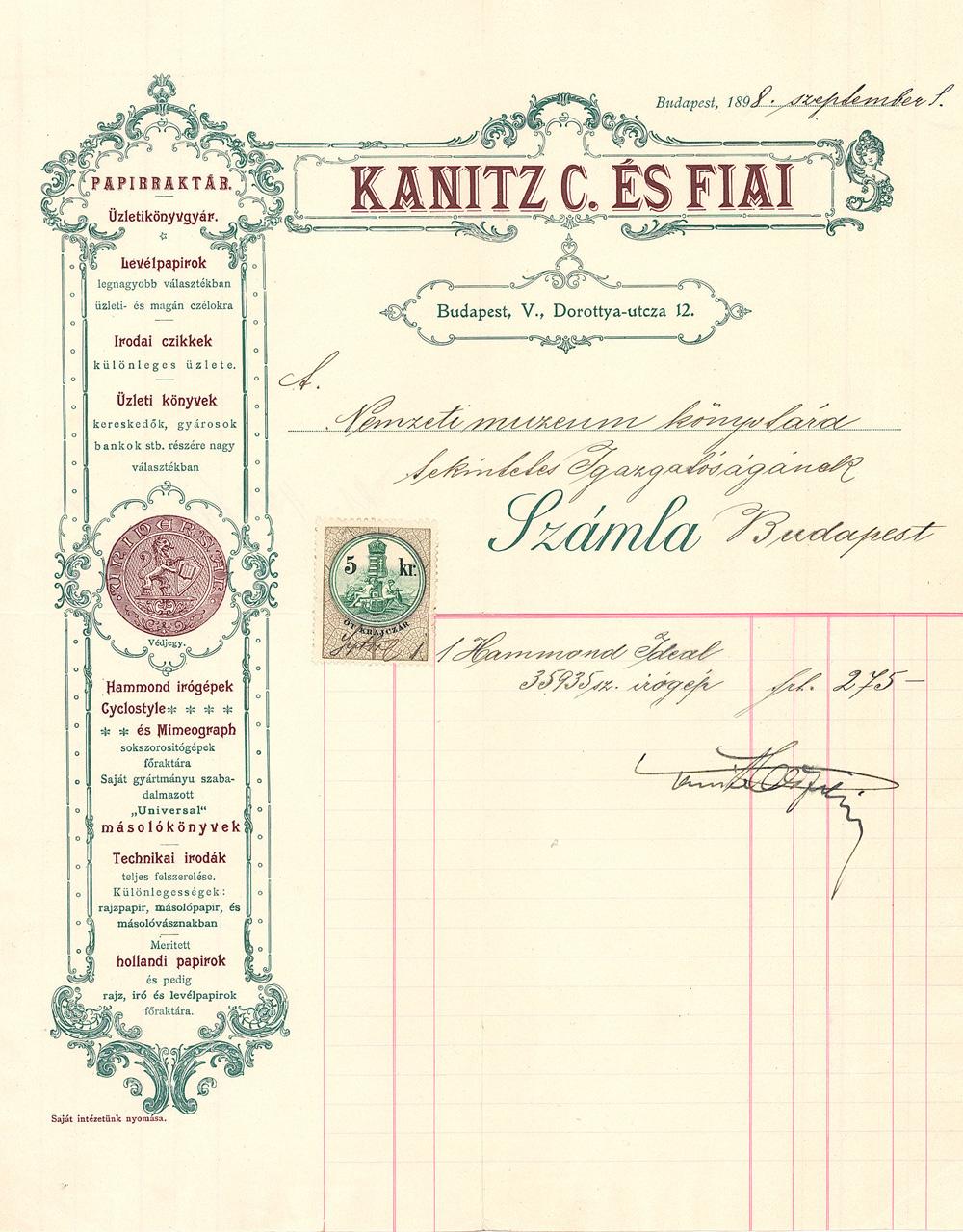 kanitz_szamla_szines18980620_nemzetikonyvtar.jpg