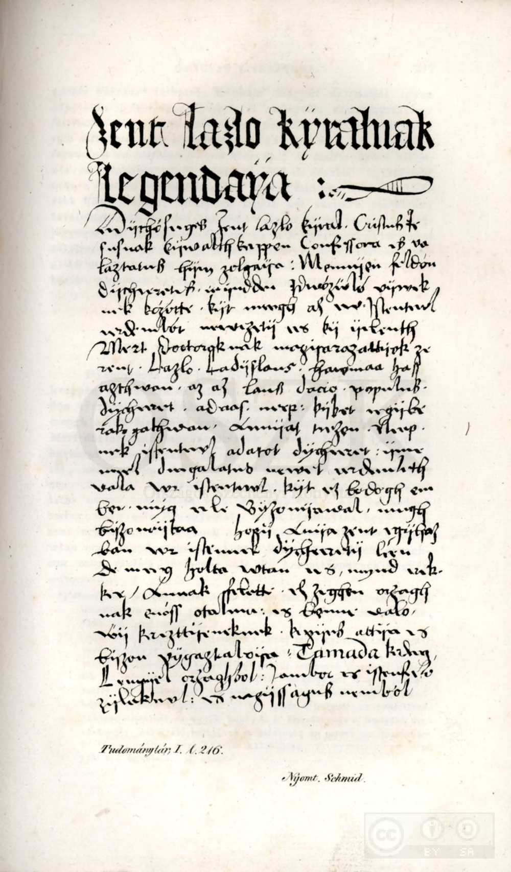 Érdy János ismertetője a később róla elnevezett nyelvemlékkódexről. Luczenbacher János: A' nagyszombati codex, 1490–1527. In. Tudománytár, 1834/1, 216–234. – Elektronikus Periodika Archívum http://www.epa.hu/02100/02198/00001/pdf/Tudomanytar_01_1834_216-234.pdf