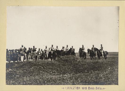 Harcztér 1915 Bódy Béla