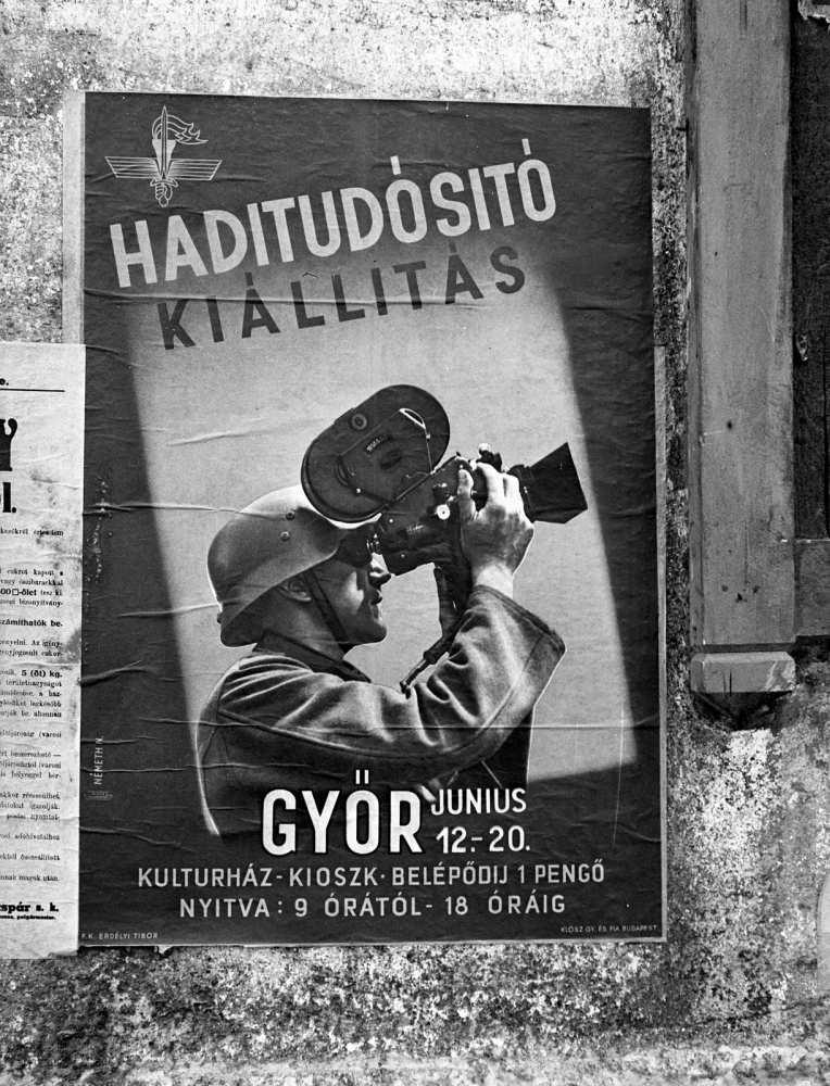 Klösz György és Fia Grafikai Rt, Németh Nándor grafikája. A kép forrása: Fortepan, Adományozó Lissák Tivadar