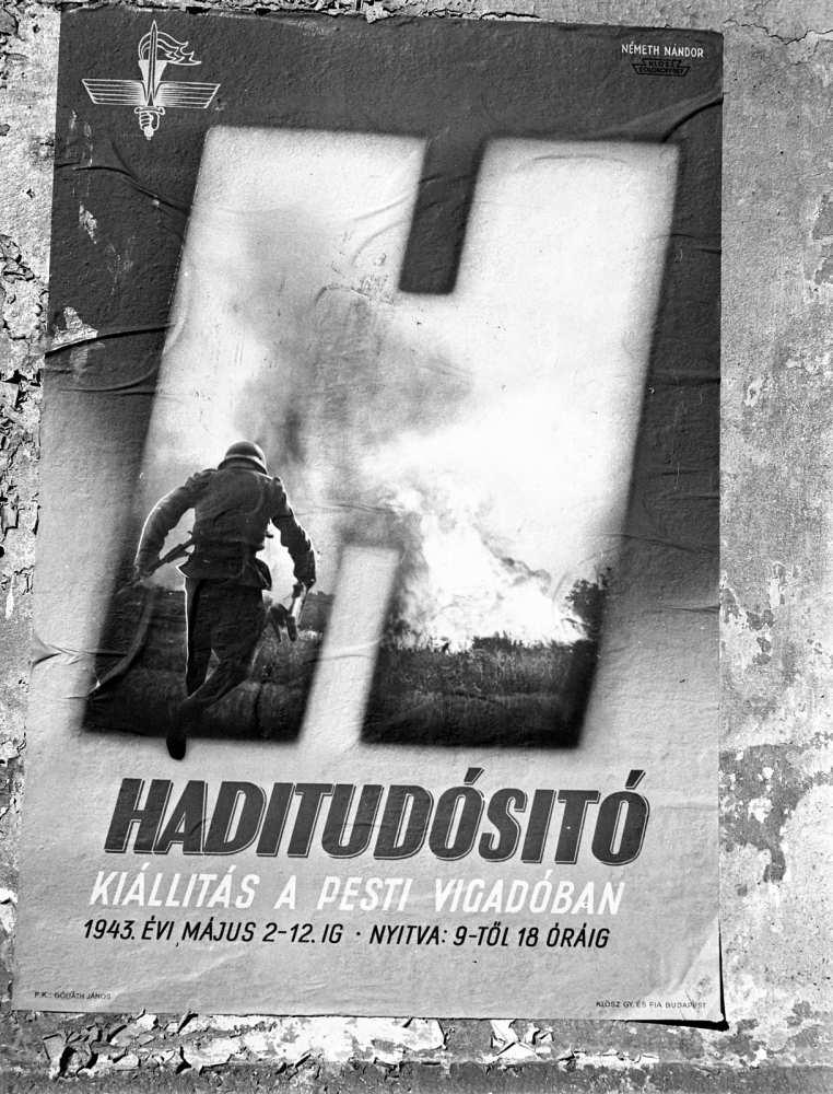 Klösz György és Fia Rt, Németh Nándor grafika, 1943. A kép forrása: Adományozó Lissák Tivadar