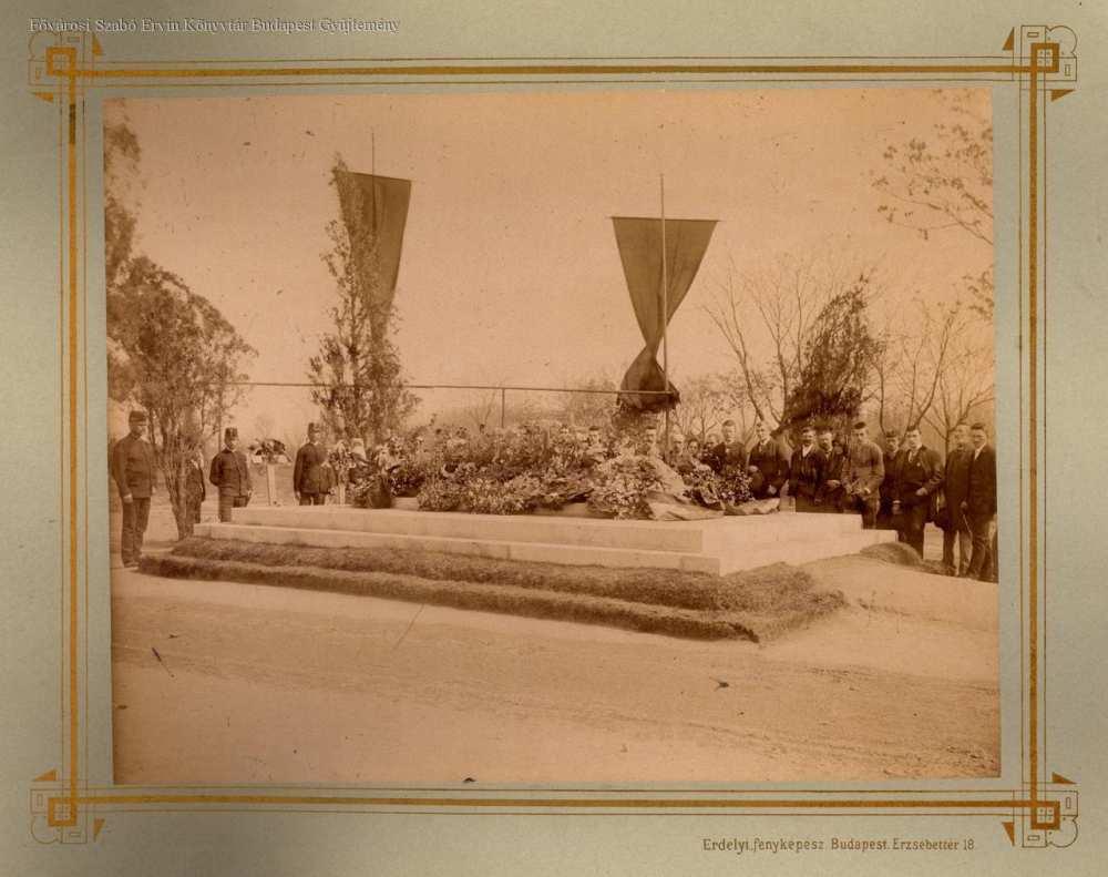Kossuth temetése – Fővárosi Szabó Ervin Könyvtár, Budapest Képarchívum (000691)