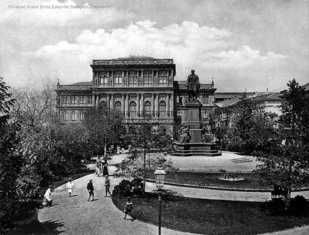 Magyar Tudományos Akadémia – Fővárosi Szabó Ervin Könyvtár, Budapest Képarchívum, 001647