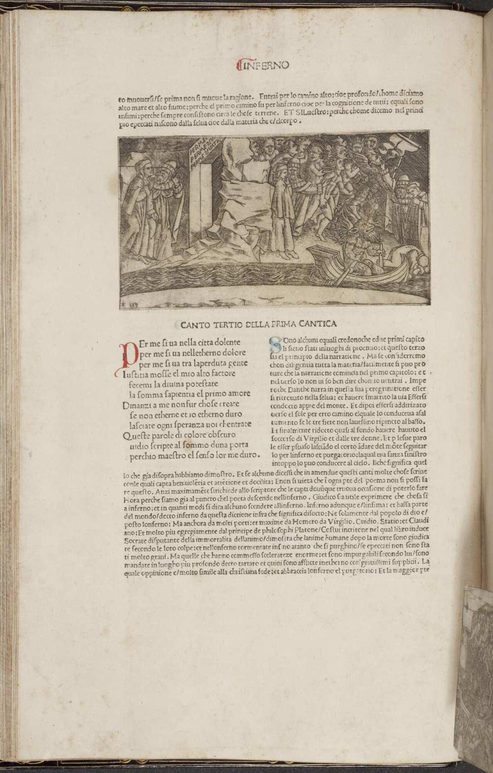 La Commedia (Comm. Cristophorus Landinus). (17280). A kép forrása: University of Manchester, Digital Collection. https://www.digitalcollections.manchester.ac.uk/view/PR-INCU-17280/68