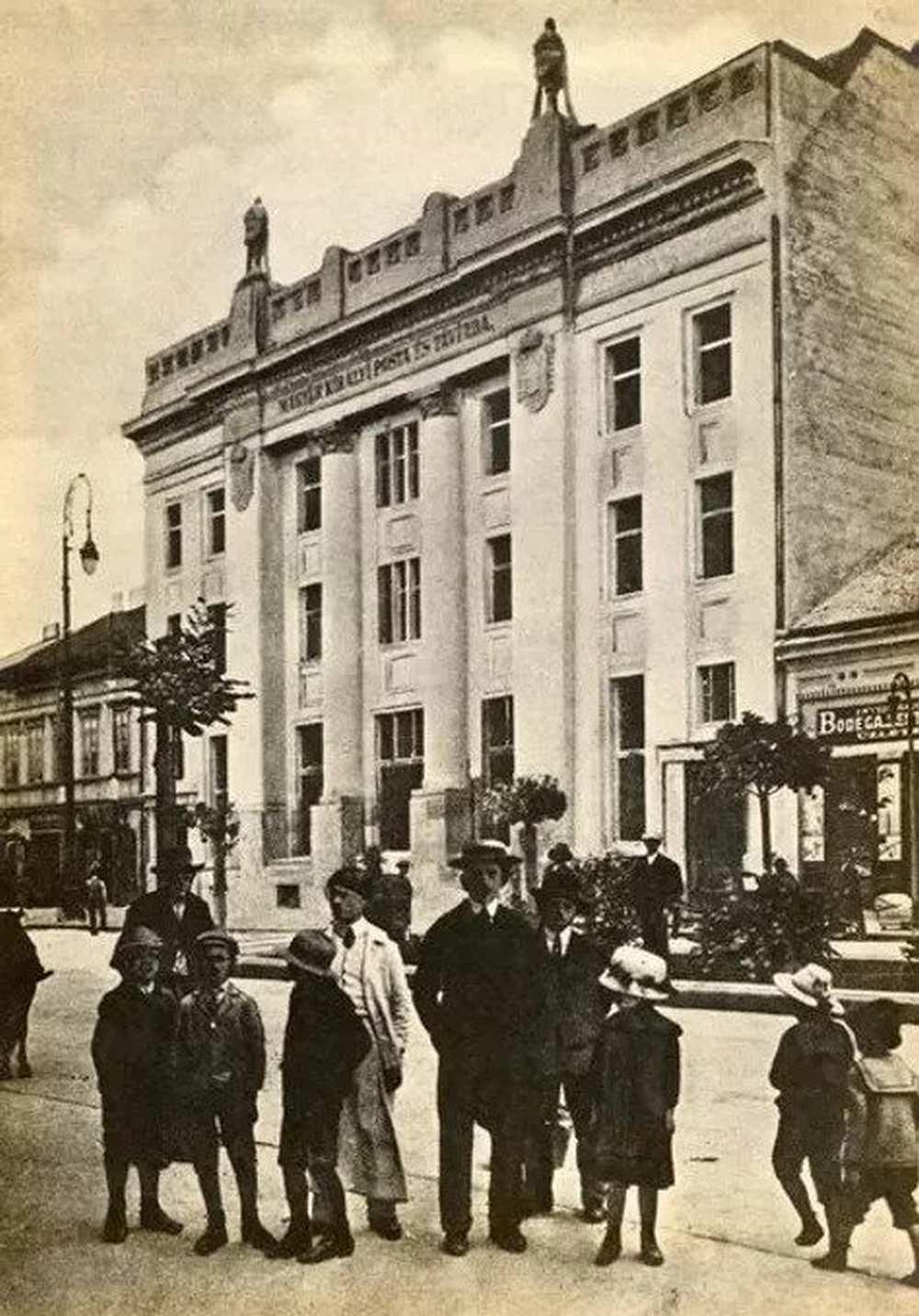 Marosvásárhelyi Postaház, I. kötet – Postamúzeum. Leltári szám: 24.507.