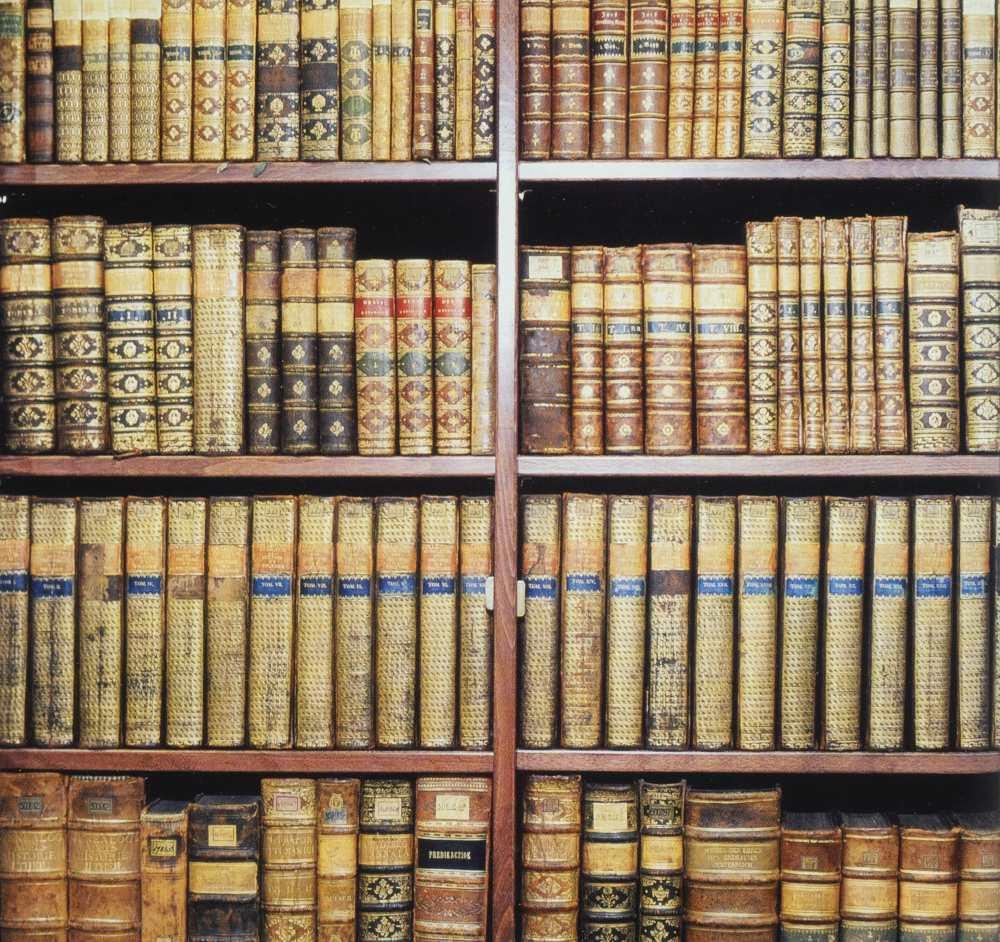 A nagycenki könyvtár kötetei