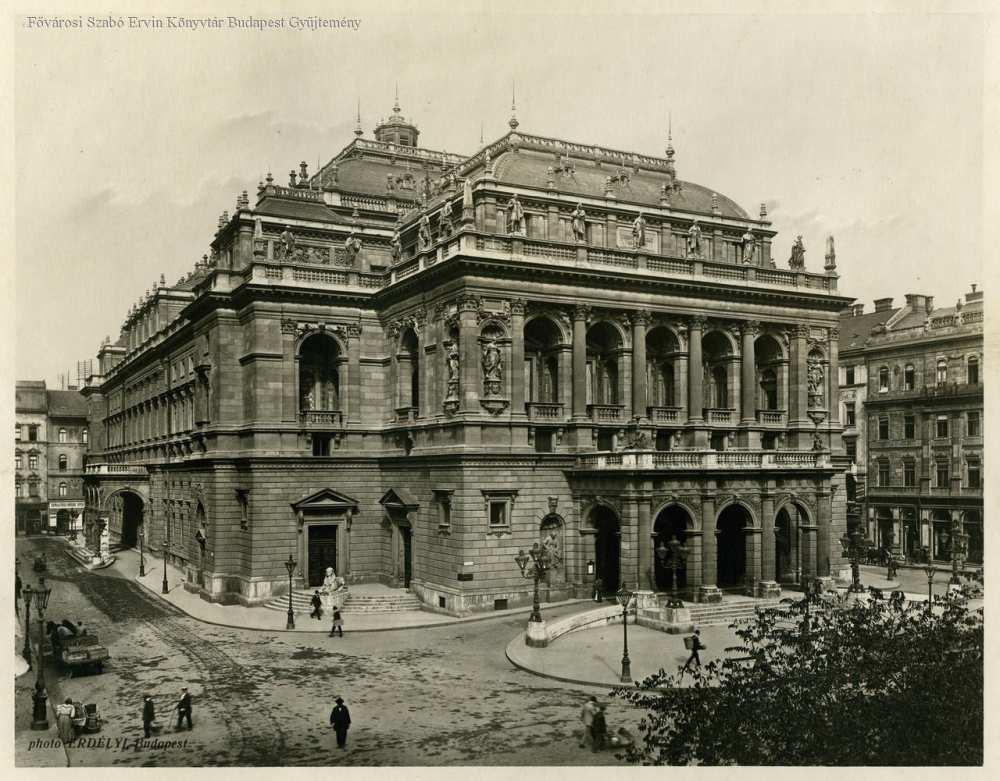 Operaház – Fővárosi Szabó Ervin Könyvtár, Budapest Képarchívum, 081241