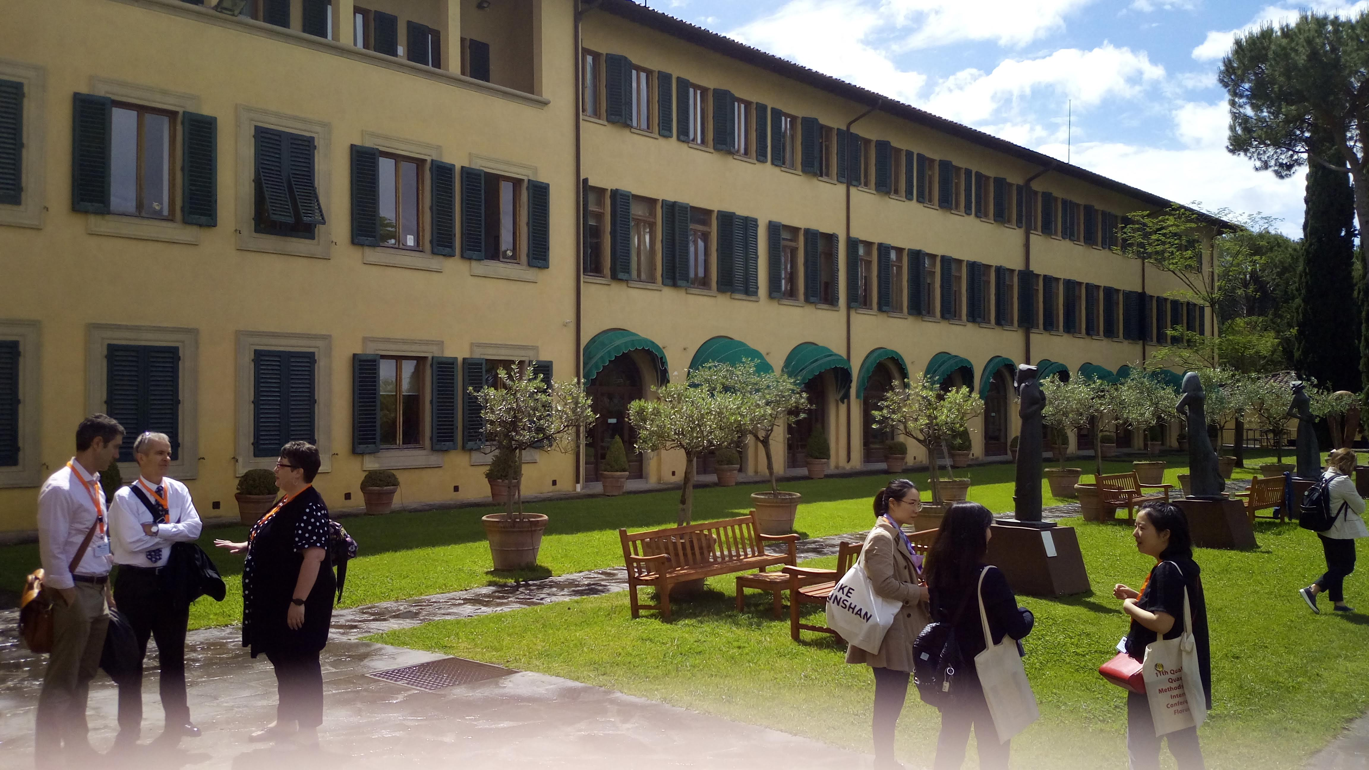 A konferencia helyszíne – European University Institute