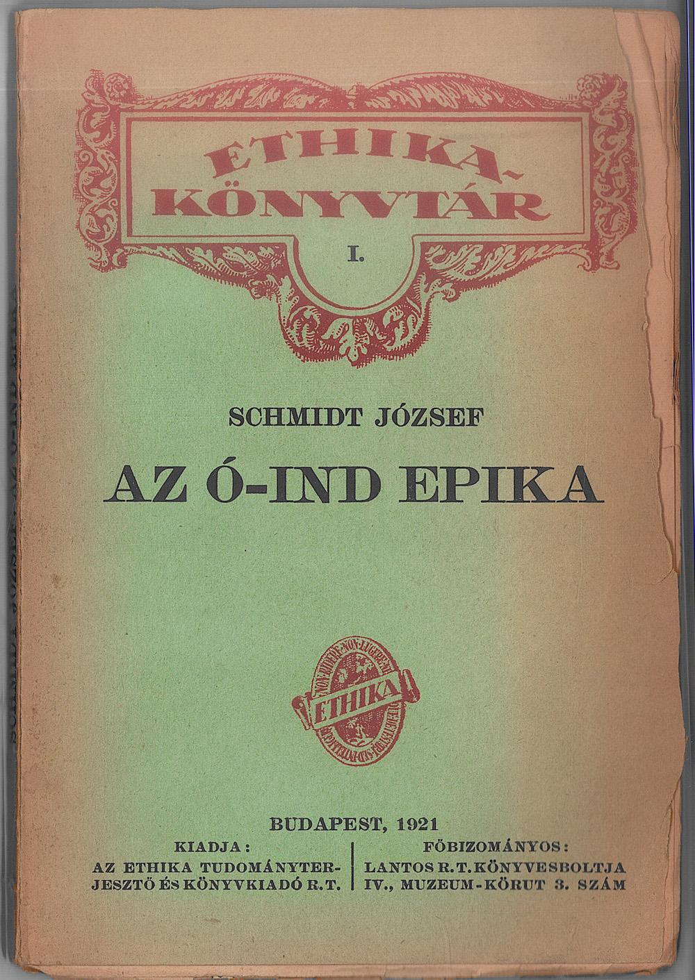 Schmidt József műfordításkötetei