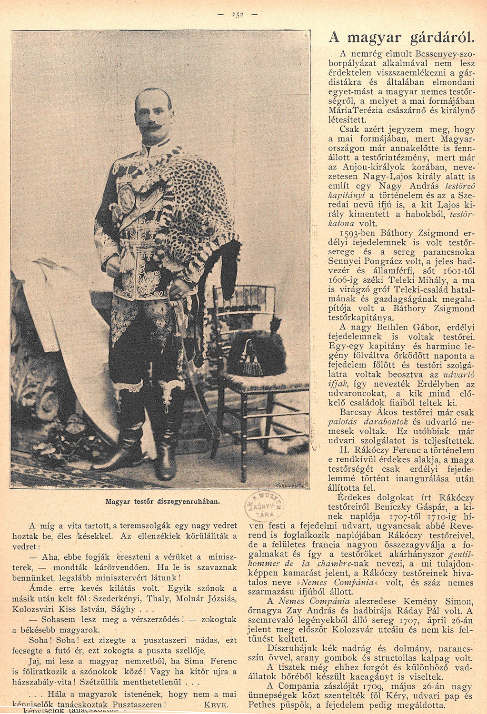 A pusztaszeri szerződés, Március 8. (11. sz.) 251-252.<br />Uj Idők. Szépirodalmi, művészeti és társadalmi képes hetilap 1896. (II. évfolyamából):