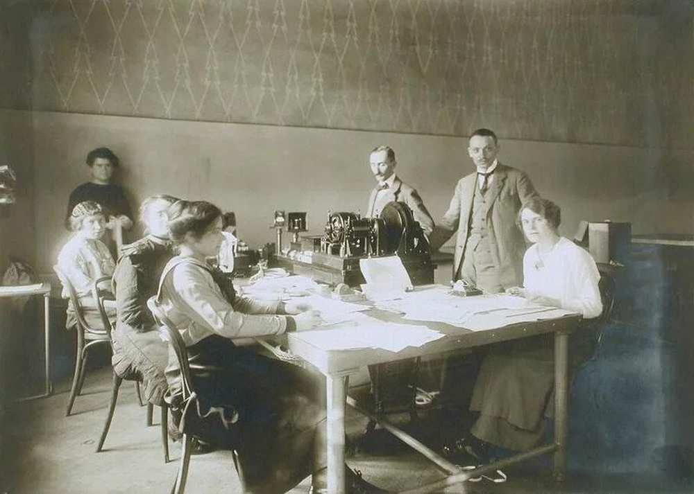 Siemens-féle gyorstávíró üzem, VII. kötet – Postamúzeum. Leltári szám: 24.175.0