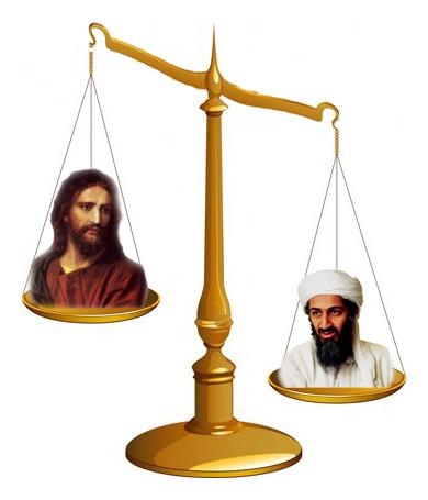 Bin Laden menőbb, mint Jézus volt valaha is