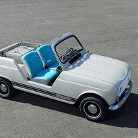 Elektromos retró Renault