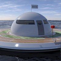 Lakj a tengeren, UFO-ban!
