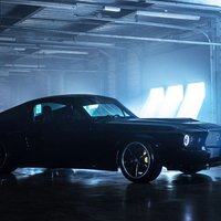 Elektromos, amerikai, klasszikus izomautó - Mustang