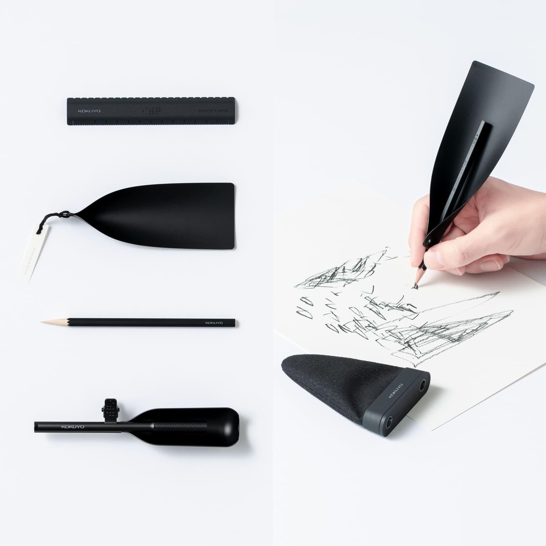 A kiegészítő, ami felhangosítja a ceruza hangjait