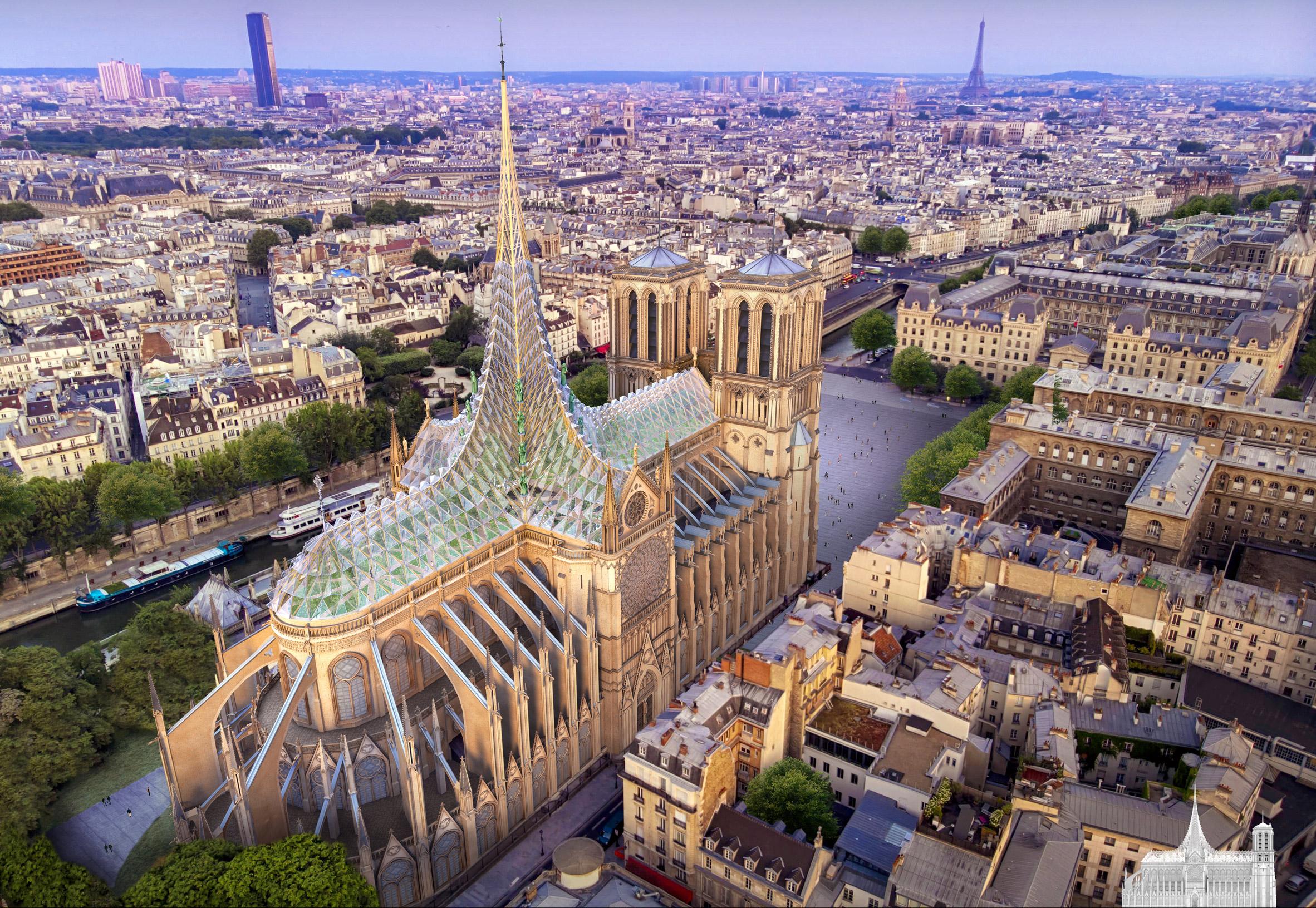 Vincent Callebaut - Notre Dame