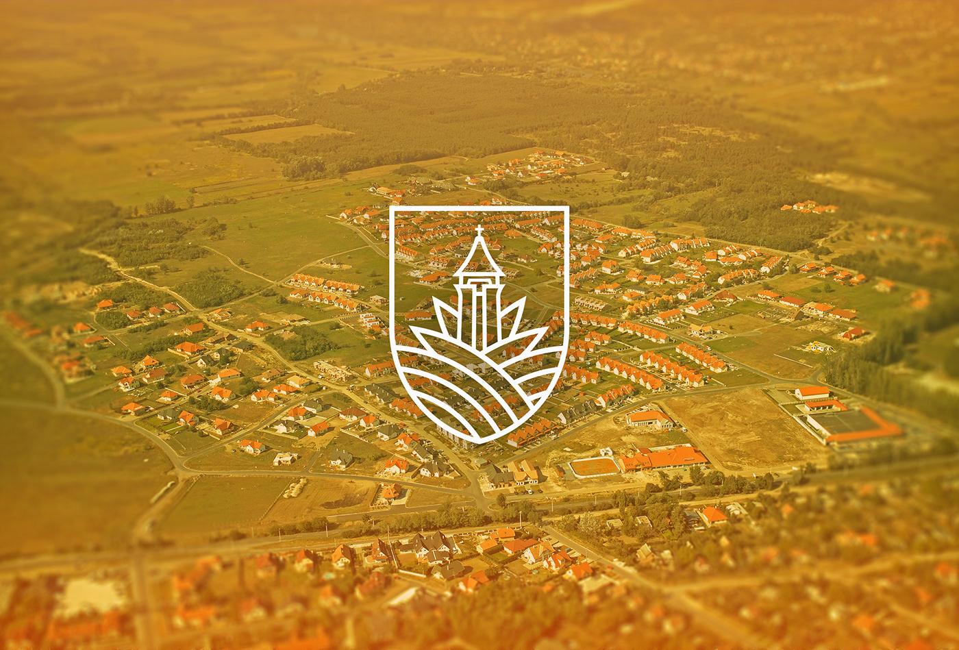 Lógót minden városnak - Veresegyház logó koncepció