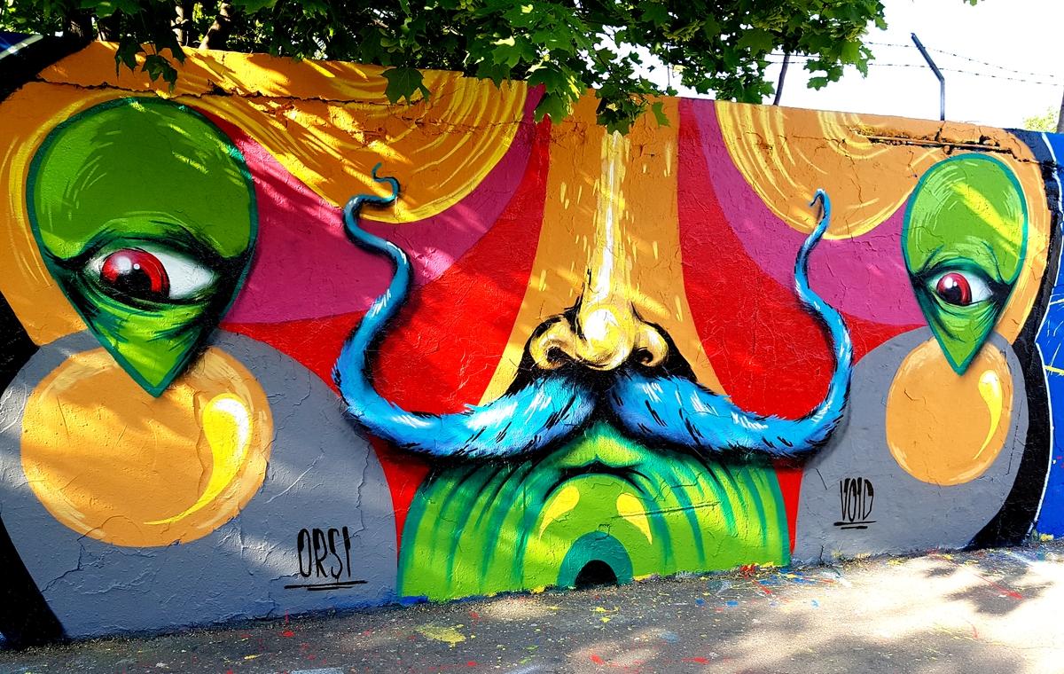 Így készül a street art