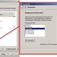 Windows: térhatású hang beállítása