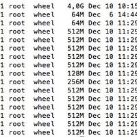 OSX: Nagy helyet foglal a sleepimage és a swapfile