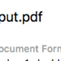 OSX: PDF fájl brutális összetömörítése