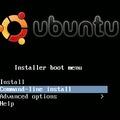 Minimál Ubuntu Linux telepítése