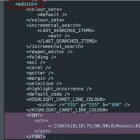 OSX: Change Code::Blocks font size without crash