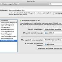 OSX: Fájlok fogadása bluetooth-on keresztül.