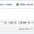 Facebook időzített bejegyzések