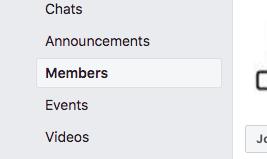 Facebook csoport felhasználó lista exportálása | Direkt marketing