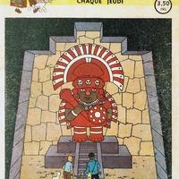 Vázlat a Journal de Tintin történetéhez