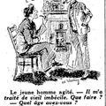 Magyar rajzolók francia lapokban, 2: Vaszary Gábor