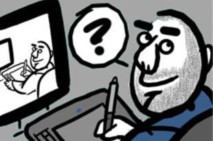 Csordás Dániel Alfabéta-díjas webcomicja