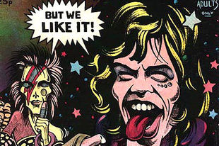Rock & comix: Joe Petagno