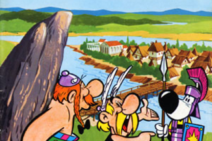 Asterix, a germán, Asterix, a brit