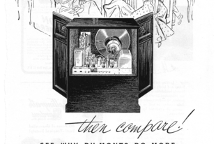 Amerikai tévé- és rádióbútorok