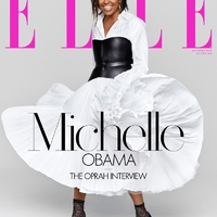 Michelle Obama Elle címlapon