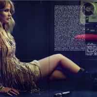 Jennifer Lawrence újra a Vogue-ban