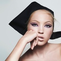 Kate Moss lánya a Marc Jacobs beauty arca